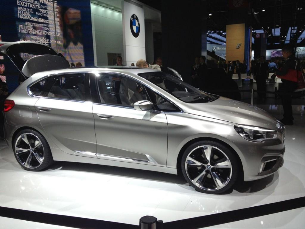 BMW Active Tourer Concept: foto LIVE dal Salone di Parigi