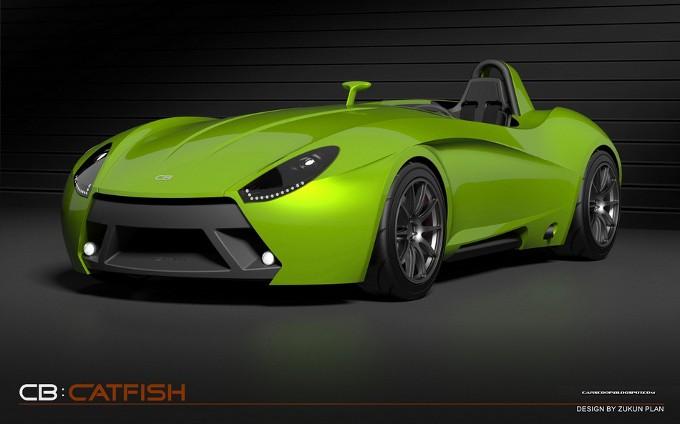 Catfish Speedster, una nuova roadster radicale