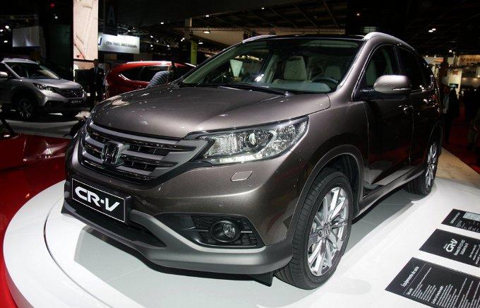 Honda CR-V - Salone di Parigi 2012