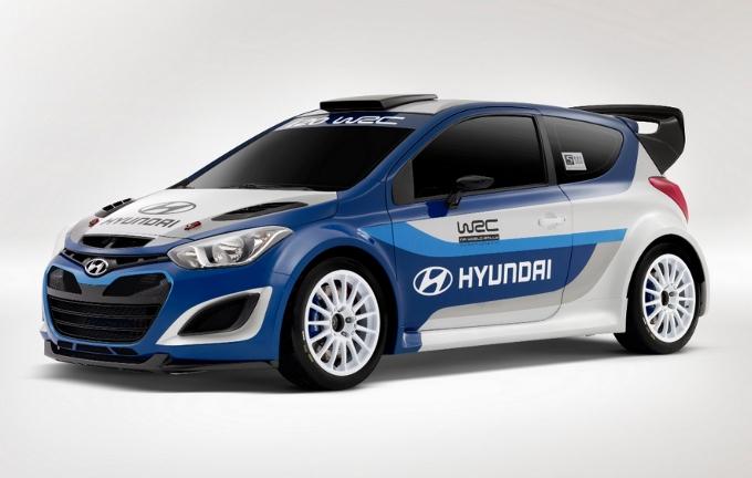 Hyundai i20 WRC - Salone di Parigi 2012