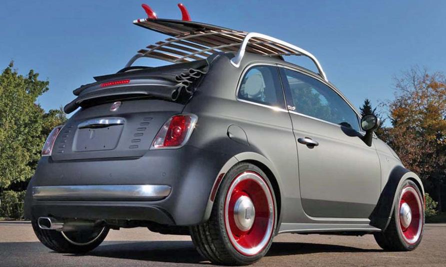Fiat 500C Beach Cruiser: una vettura da spiaggia al SEMA 2012