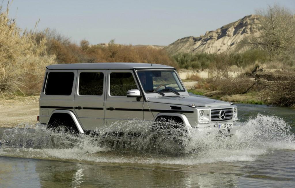 Mercedes GLG: un nuovo ed innovativo fuoristrada