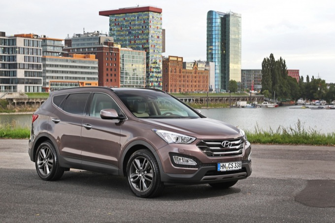 Hyundai Santa Fe premiata in America per la sicurezza