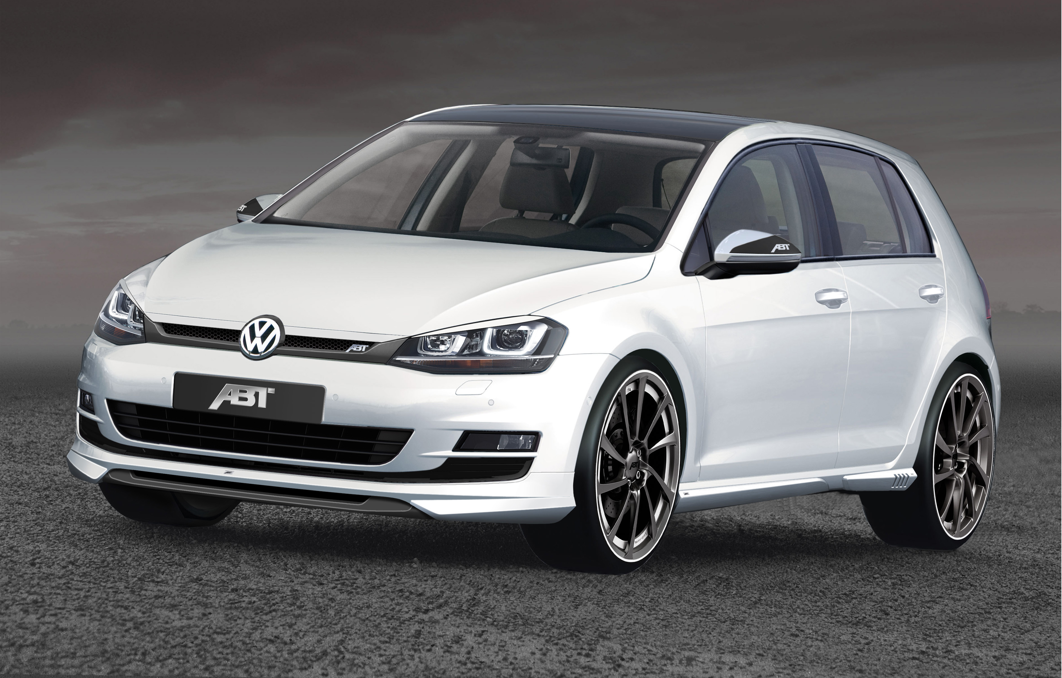 volkswagen golf vii by abt un tuning molto speciale. Black Bedroom Furniture Sets. Home Design Ideas