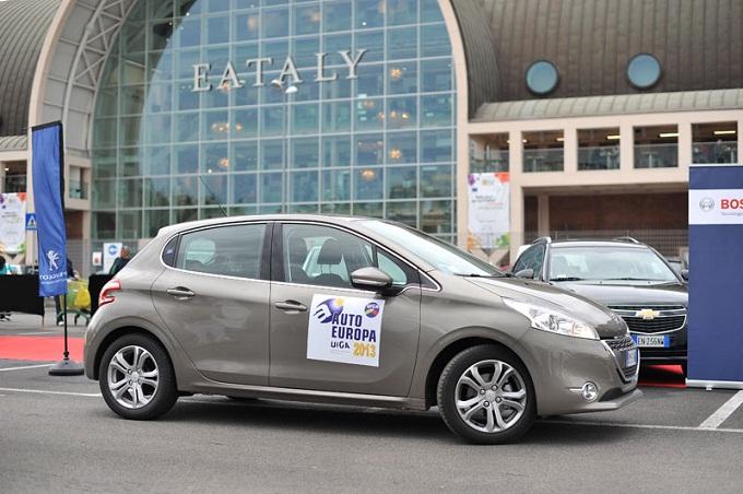 Peugeot 208 eletta Auto Europa 2013