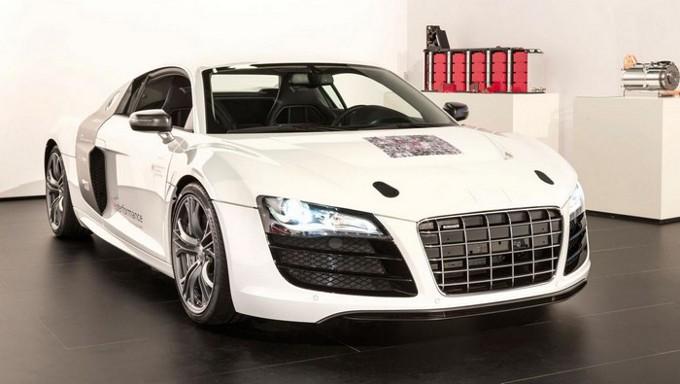 Audi F12 e-Perfomance, nuovo prototipo elettrico