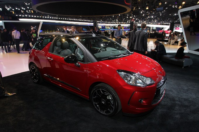 Citroen DS3 Cabrio - Salone di Parigi 2012