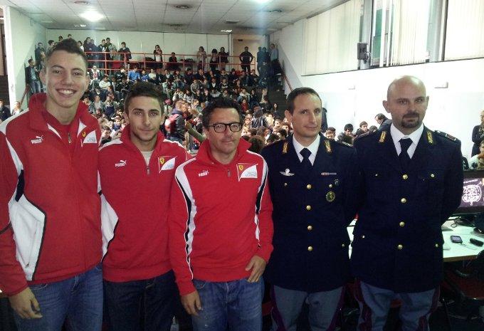 """Ferrari Driver Accademy: A Monza la terza tappa di """"Dai Gas alla Sicurezza"""""""