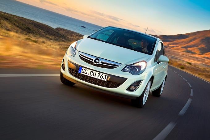 Opel Corsa 1.3 CDTI ecoFLEX, consumi ed emissioni al top