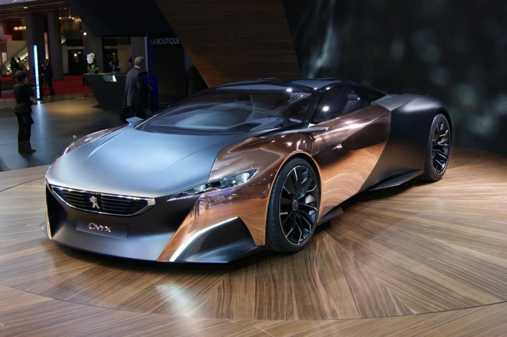 peugeot onyx ecco il video della supercar. Black Bedroom Furniture Sets. Home Design Ideas