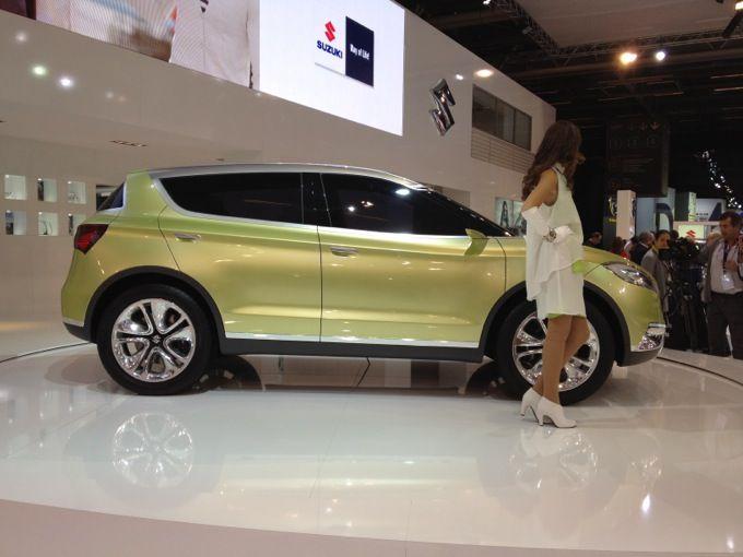 Suzuki S-Cross Concept - Salone di Parigi 2012