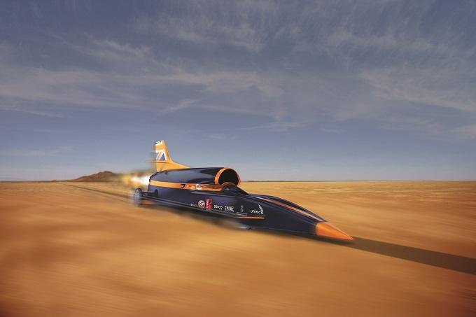 The Bloodhound Project: tentativo di record di velocità a emissioni zero