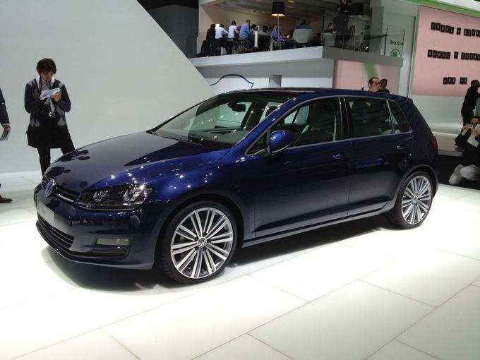 Volkswagen Golf VII - Salone di Parigi 2012