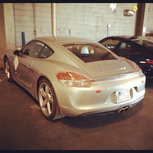 2012 Porsche Cayman Camshaft: Porsche Cayman 2013, Foto Spia A Pochi Giorni Dal Debutto