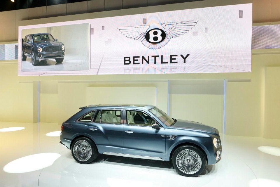 Bentley, il SUV potrebbe chiamarsi Falcon