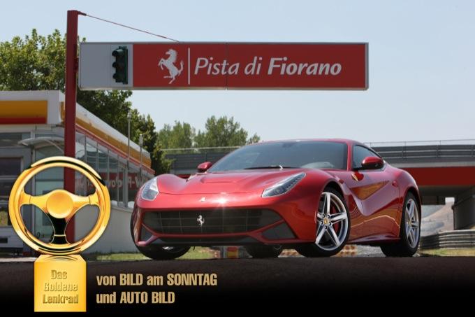Ferrari F12Berlinetta: Auto Bild le assegna il Volante d'Oro 2012