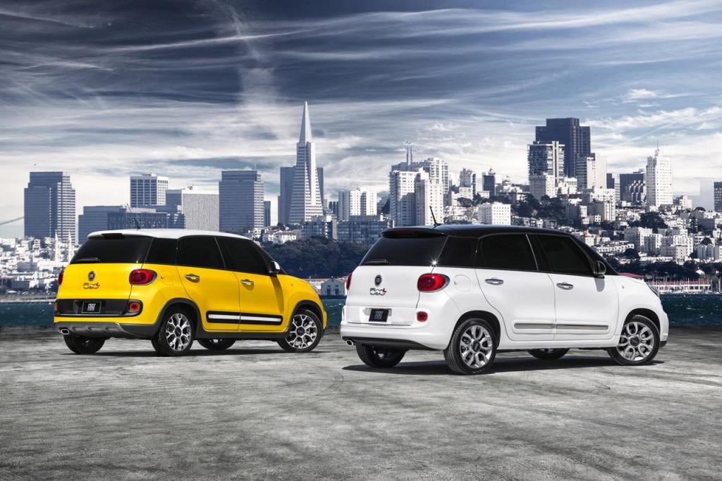 Salone di Los Angeles 2012: Fiat 500L e 500L Trekking Fiat 500l Trekking