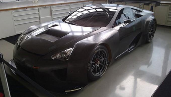 Lexus LFA GTE, vuole vincere le 24 Ore del Nürburgring 2013