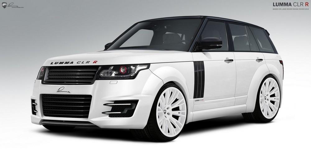 Nuova Land Rover Range Rover by Lumma