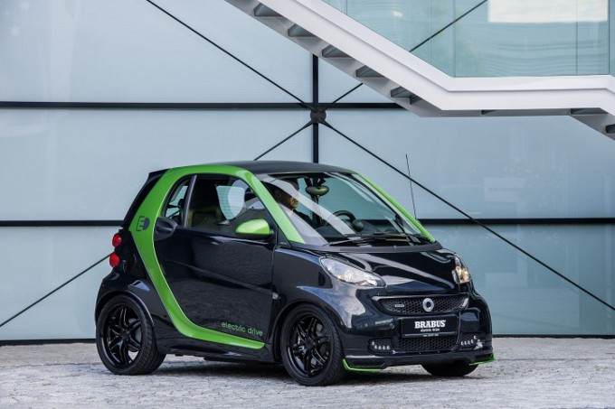 Smart Brabus Electric Drive, debutta in Francia