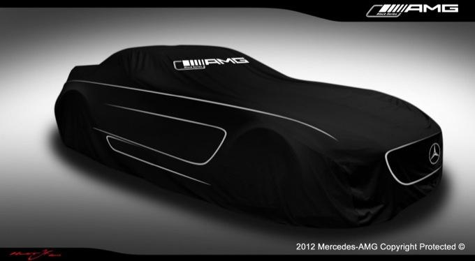 Mercedes SLS AMG Black Series, primo teaser ufficiale