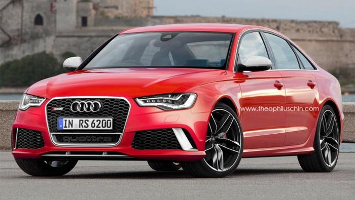 Audi RS6, questa la versione Sedan?