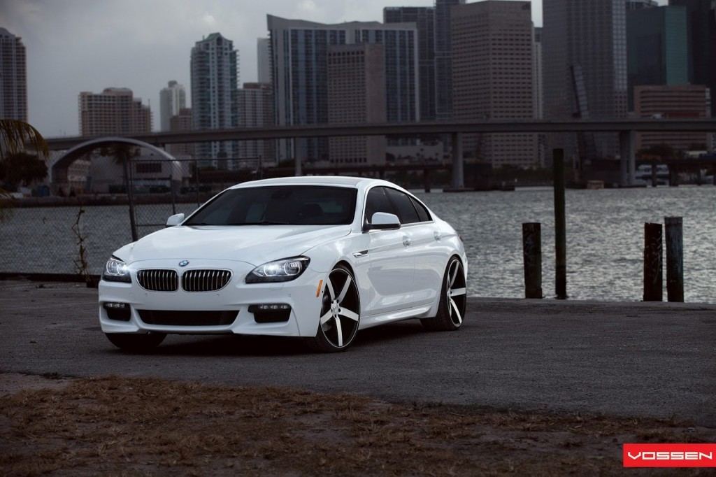 bmw serie 6 gran coup m sport package by vossen. Black Bedroom Furniture Sets. Home Design Ideas