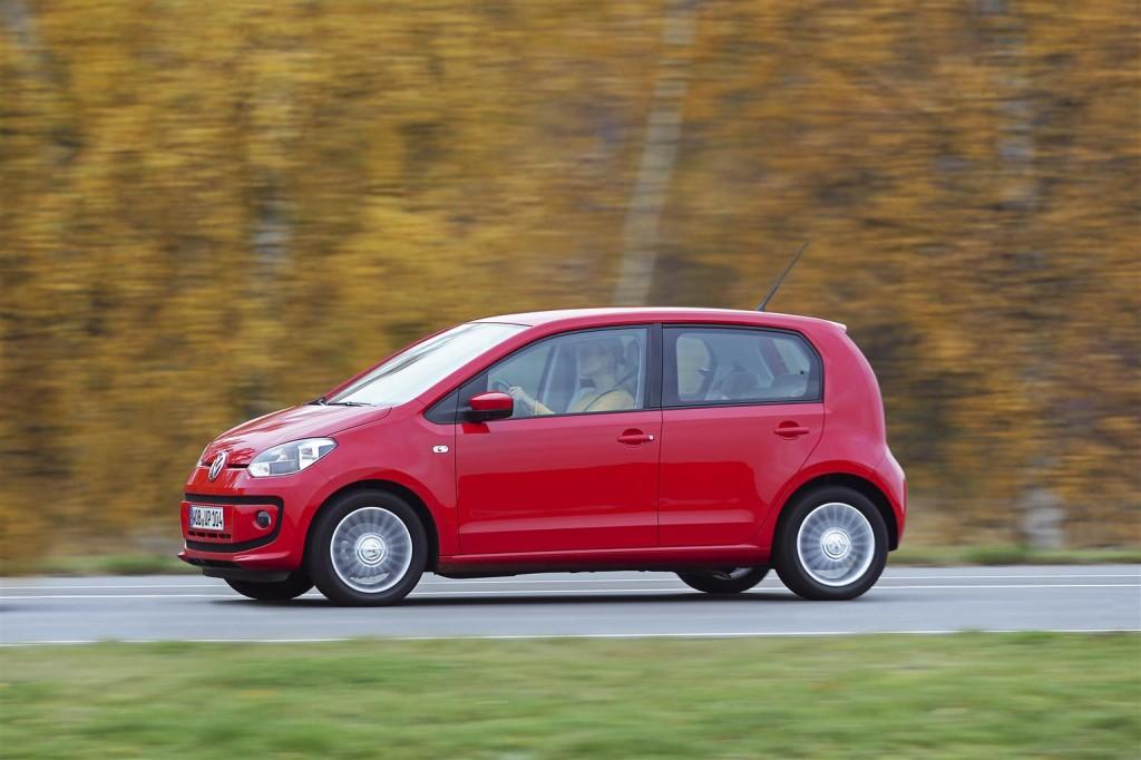 Volkswagen Eco Up! a metano, mai visti consumi così bassi