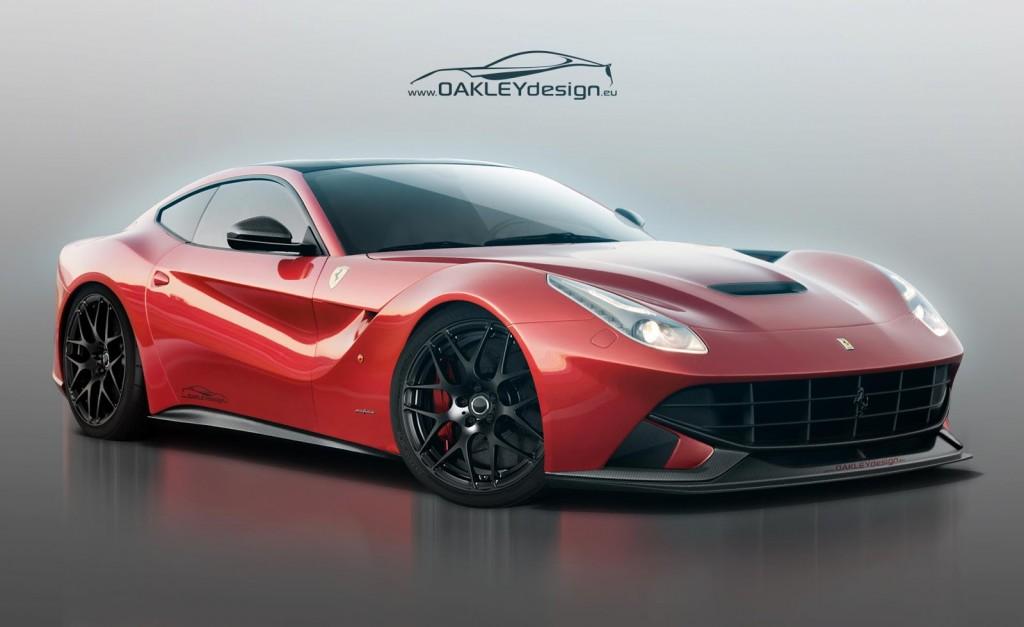 Ferrari F12berlinetta by Oakley Design