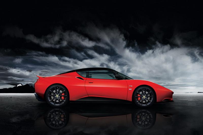 Lotus Evora Sports Racer, prime informazioni e foto ufficiali