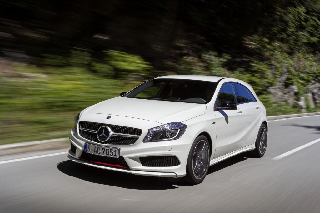 La Mercedes Classe A agguanta le 5 stelle Euro NCAP