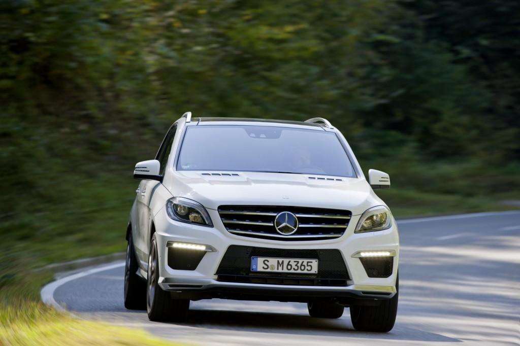 Mercedes ML63 AMG 2013: un nuovo spot per il crossover più performante