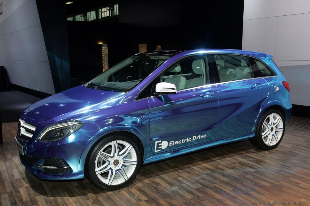 Mercedes Electric Drive - Motor Show di Bologna 2012