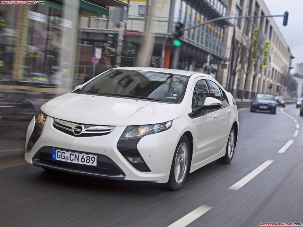 Opel Ampera набирает популярност…