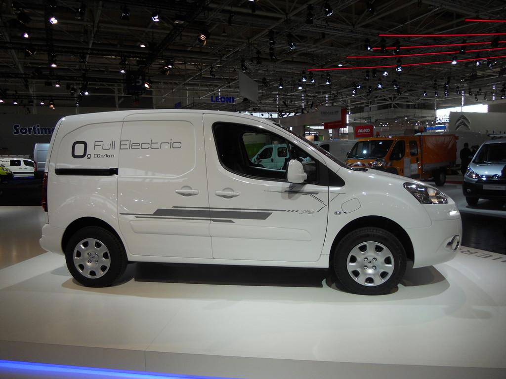 Peugeot Partner 2013: variante 100% elettrica