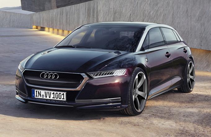 Audi A6 Sportback e-tron, potrebbe essere possibile