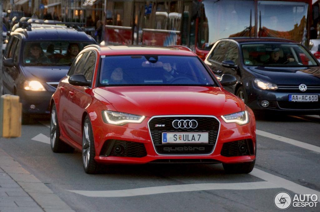 Audi RS6 Avant, Ferdinand Piech è il primo ad averne una