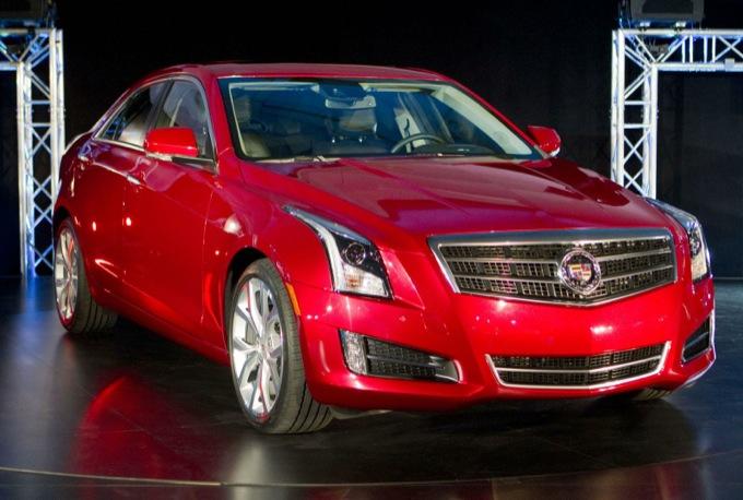 Cadillac ATS vince il premio Auto dell'Anno al Salone di Detroit 2013