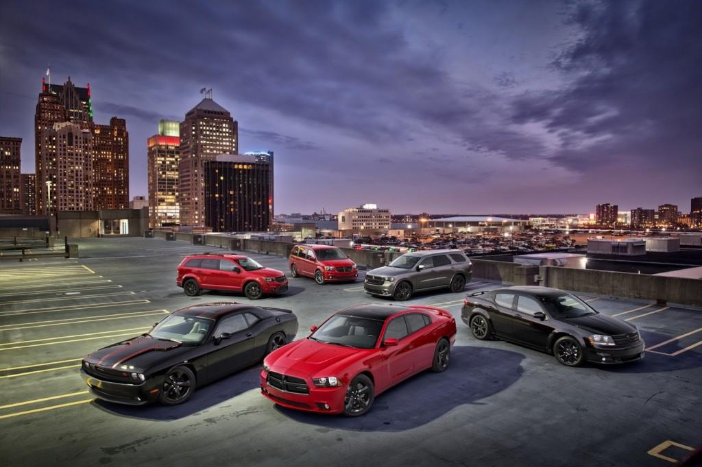 Dodge Blacktop Package - 2013