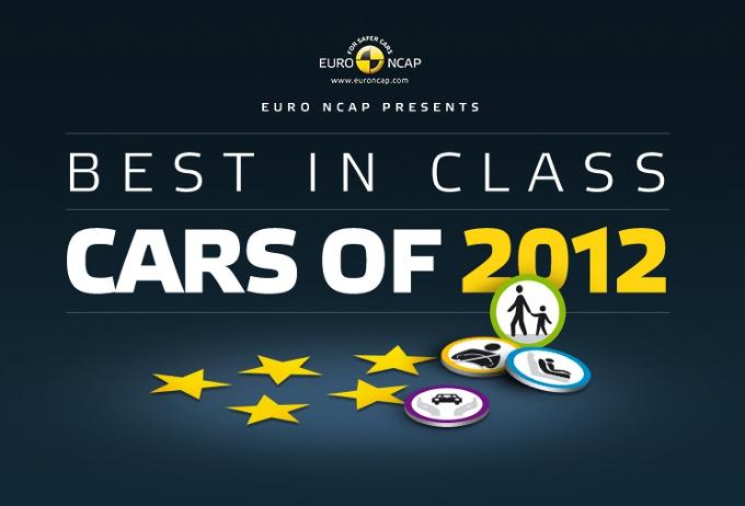 Euro NCAP sceglie il meglio del 2012