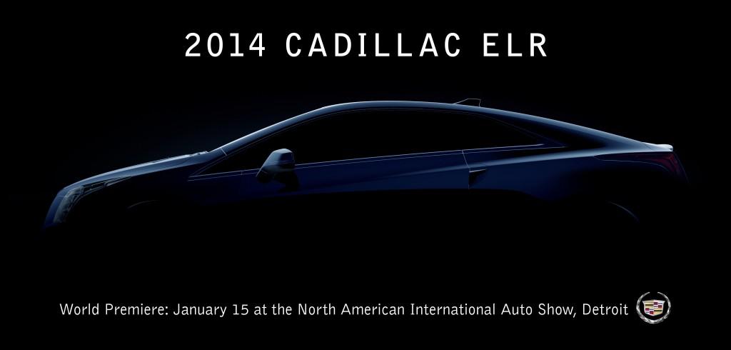 Cadillac ELR coupé debutta al Salone di Detroit