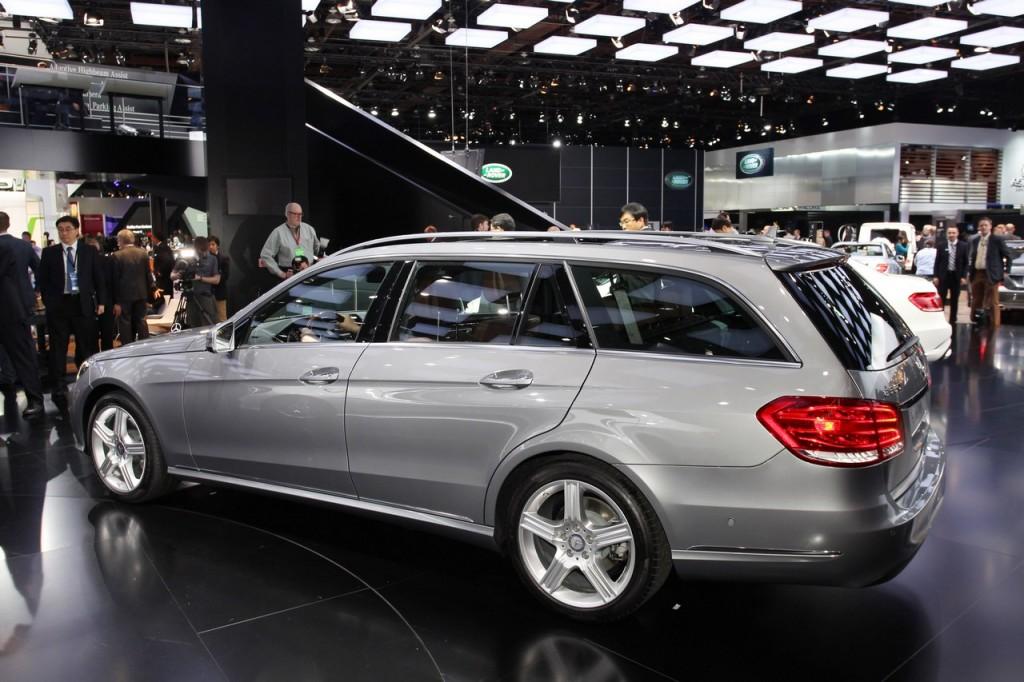 Mercedes Classe E Station Wagon - Salone di Detroit 2013