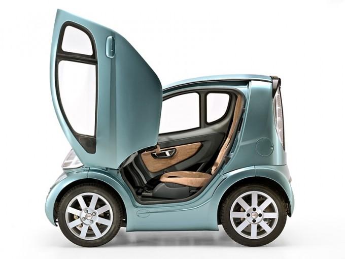 Volpe la rivoluzionaria auto elettrica in anteprima al for Motorized vehicles for 12 year olds