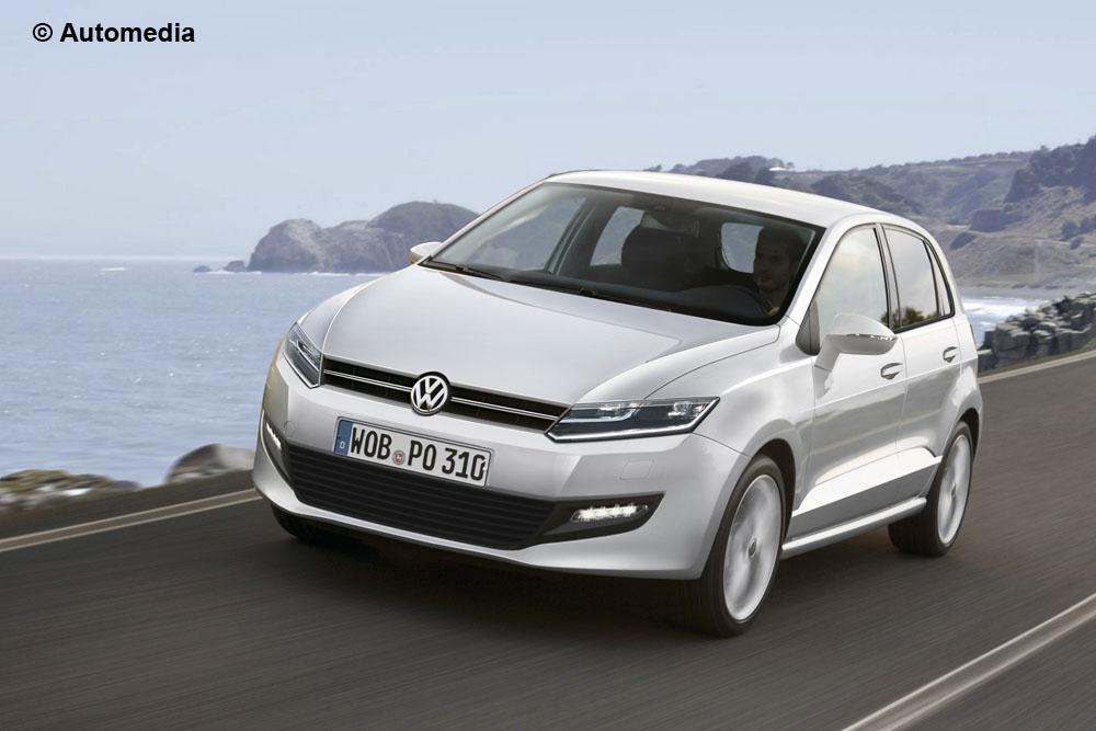 Volkswagen Polo 2015: un rendering ne anticipa le forme