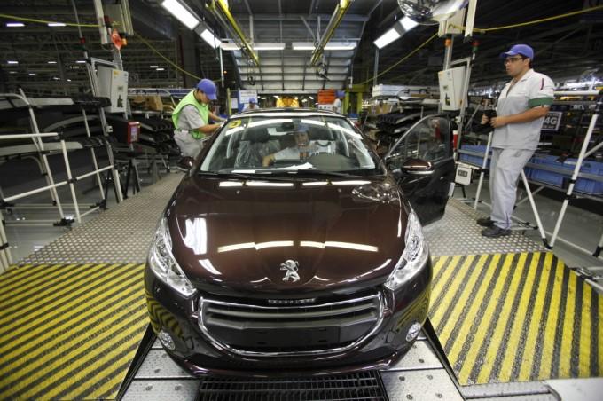 Peugeot 208, al via la produzione in Brasile