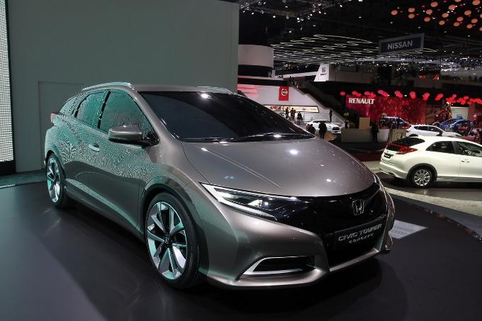Honda Civic Tourer Concept Debutto Al Salone Di Ginevra