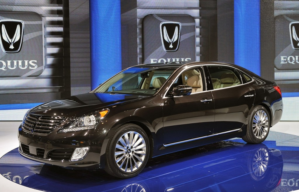 Hyundai Equus - Salone di New York 2013