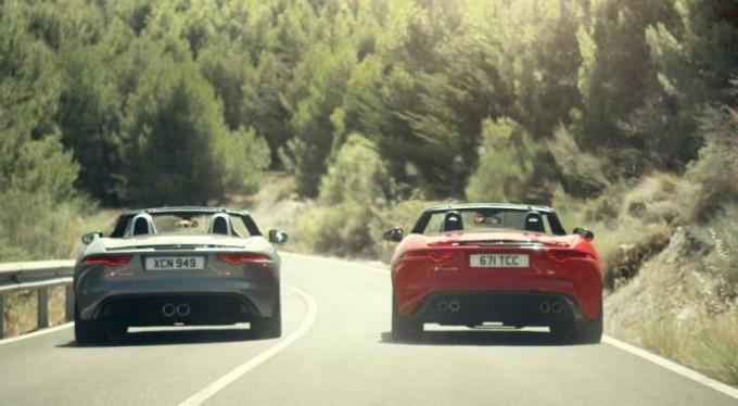 Jaguar presenta il trailer di Desire, cortometraggio con protagonista la F-Type