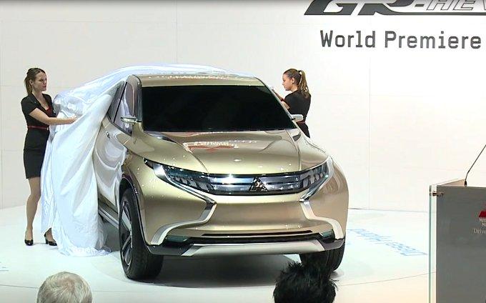 Mitsubishi GR-HEV - Salone di Ginevra 2013