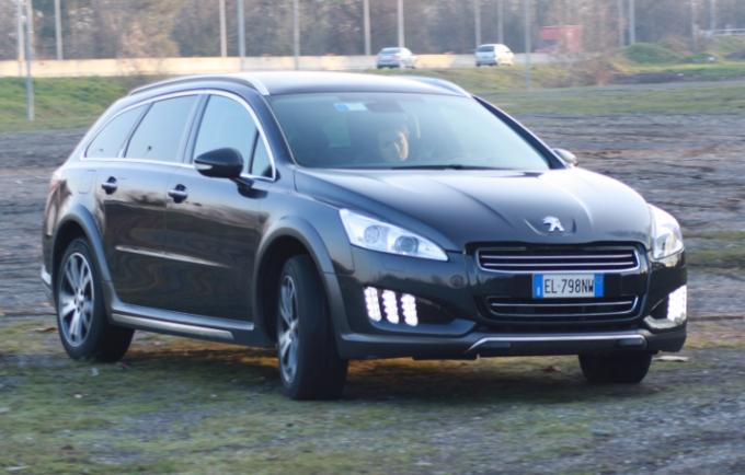 Peugeot 508 RXH, prime impressioni di guida